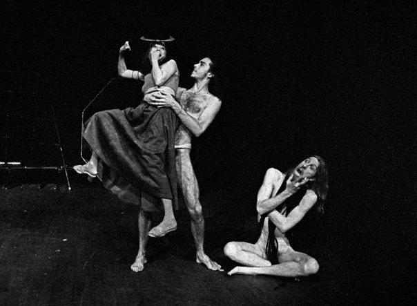Satyamo and Juduth Malina, prove Prometeo - Living Theatre
